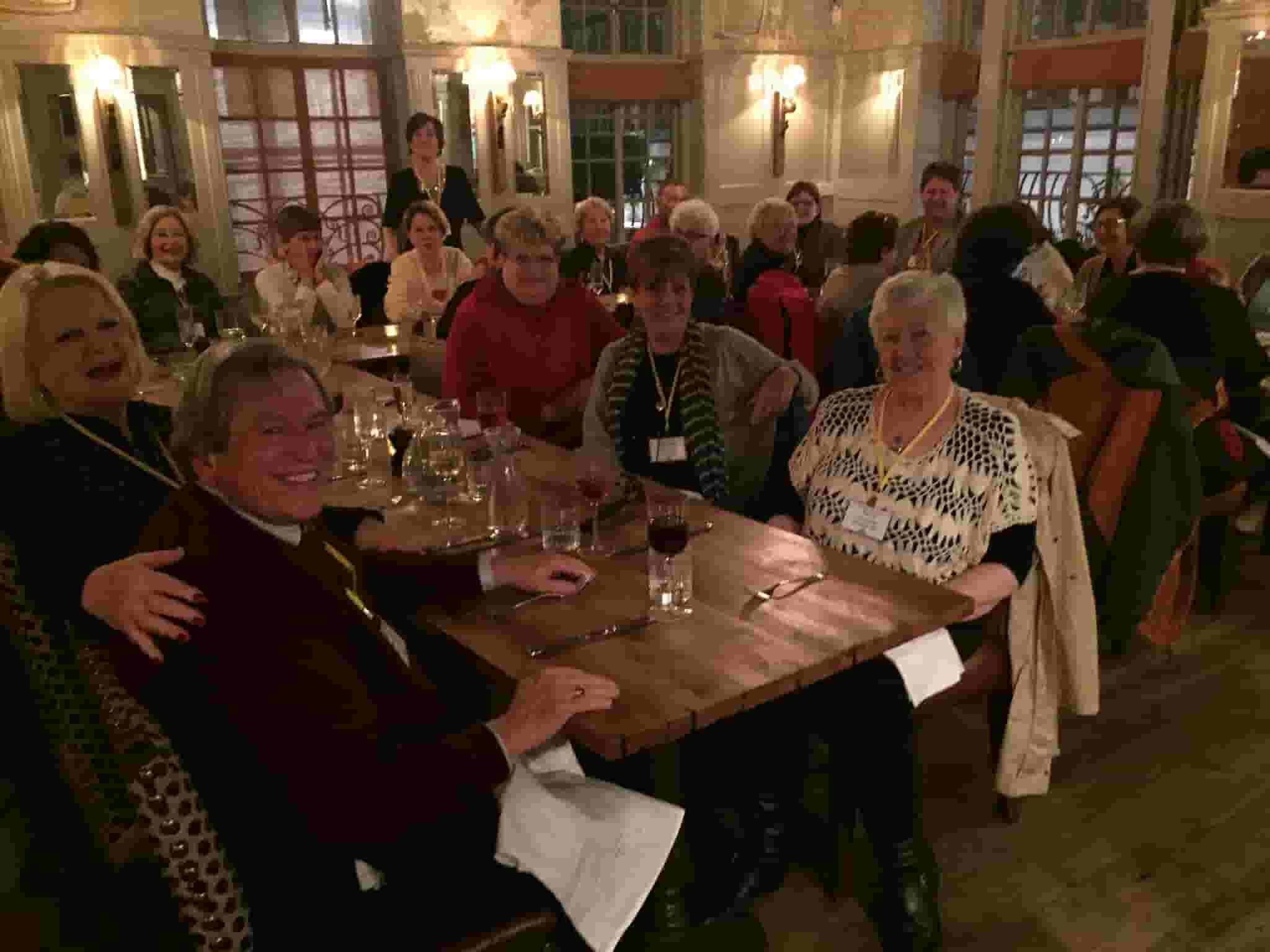 Crufts welcome dinner in London