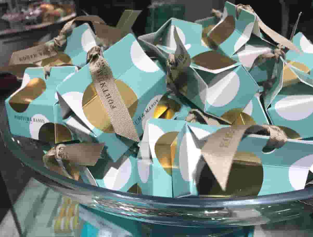 A little treat from Fortnum and Mason