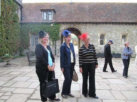 Fun and smiles at Eastwell Manor